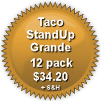 Pricing for 12-Pack Grande  TacoStandUp