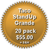 Pricing for 20-Pack Grande  TacoStandUp