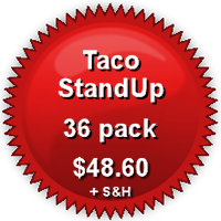 Pricing for 36-Pack TacoStandUp
