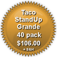 Pricing for 40-Pack Grande  TacoStandUp
