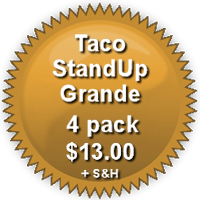 Pricing for 4-Pack Grande TacoStandUp