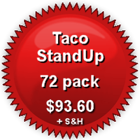 Pricing for 72-Pack TacoStandUp